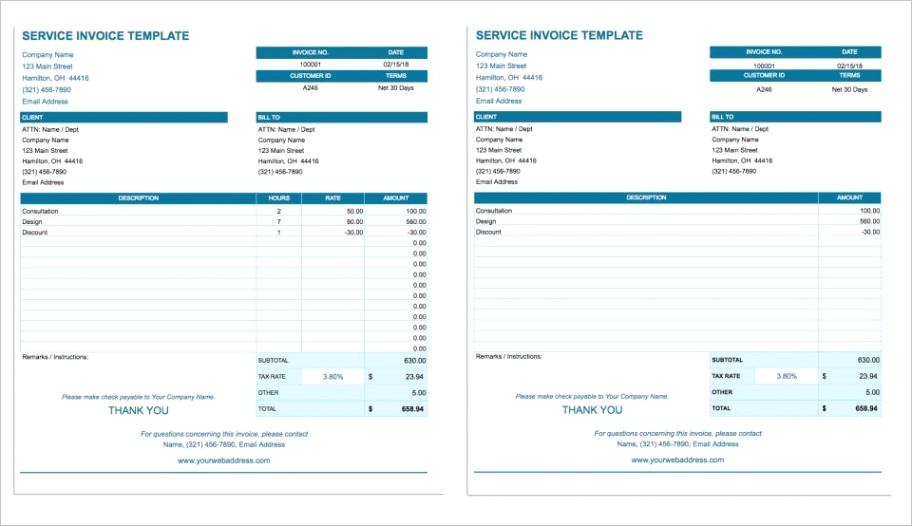 rent invoice template google docsml