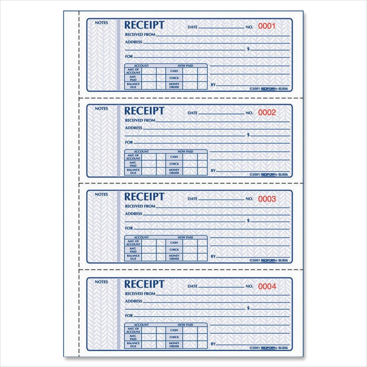 money rent receipt templateml