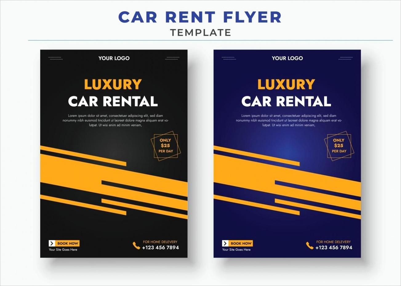 car rent flyer templates car sale flyer