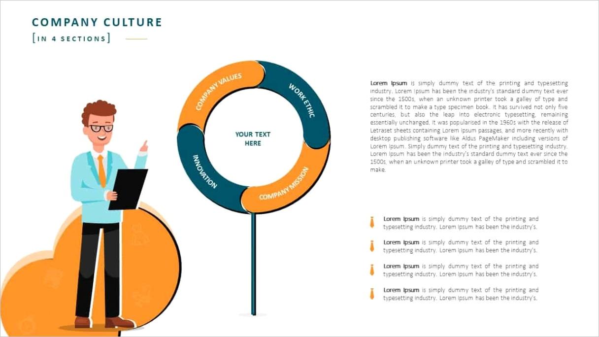 employee handbook powerpoint template
