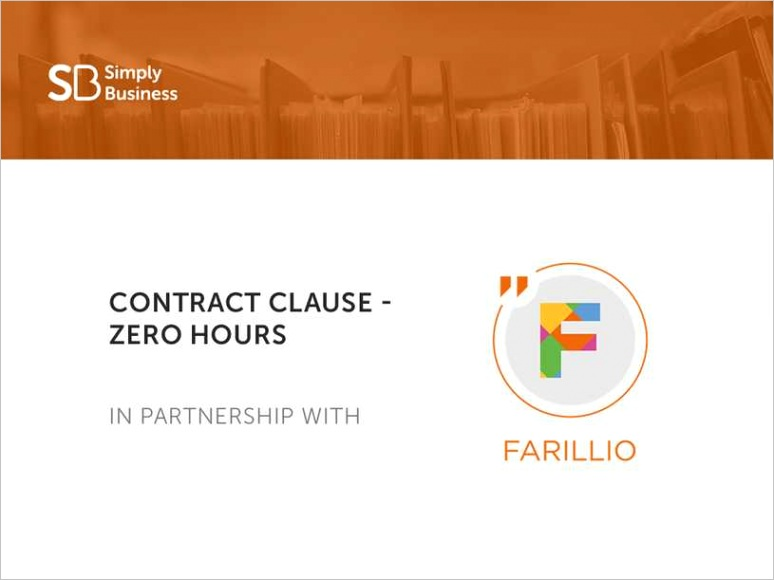 contract of employment template free
