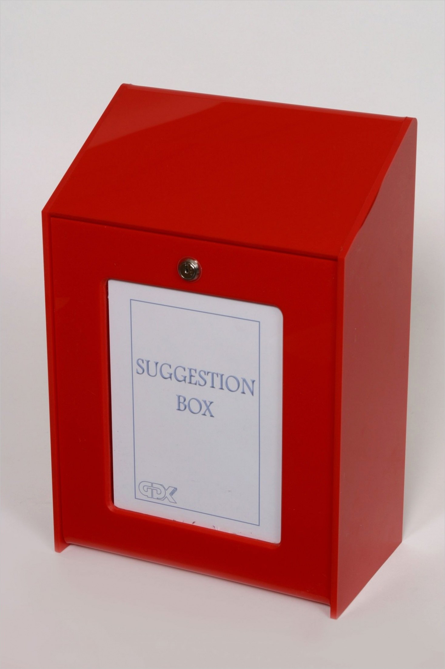 suggestion box with no slot