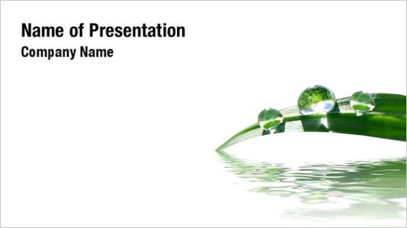 grass in water powerpoint templates W