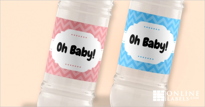 free water bottle label templates