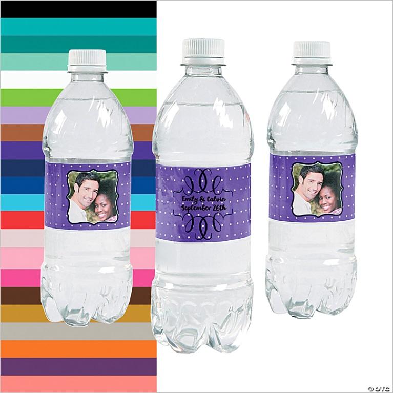 custom photo scroll water bottle labels a2 fltr
