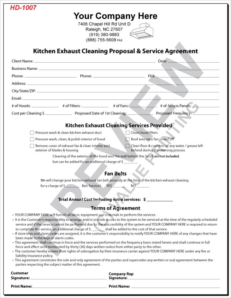hd 1007 kec proposal agreement
