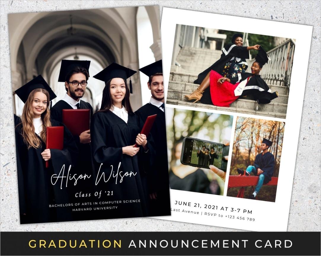 utm source=rss&utm medium=rss&utm campaign=graduation announcement card canva template college graduation invitation template minimalist grad announcement invite instant