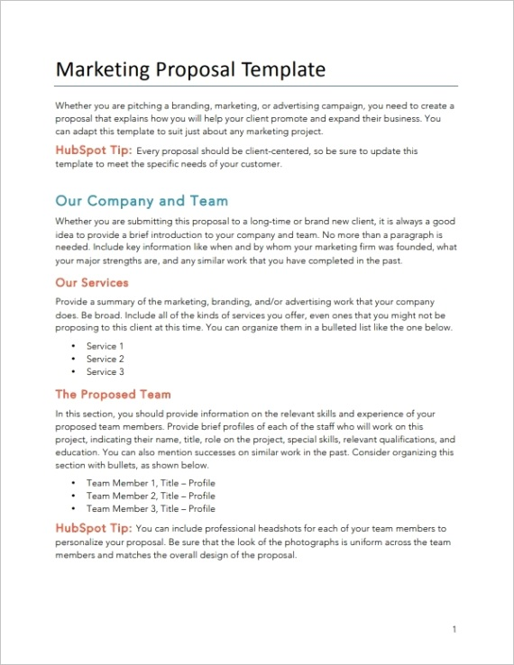 how to write consulting proposal