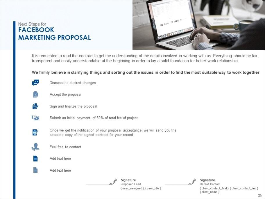marketing proposal template powerpoint presentation slidesml