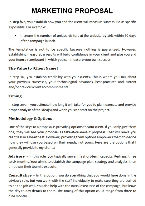 marketing proposal templateml