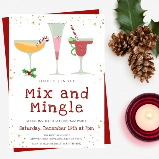 mix and mingle christmas party