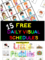 Daily Schedule Preschool Template
